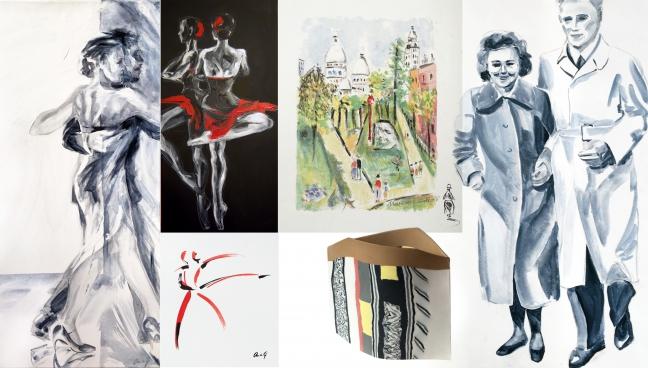 MEMORIES THE FIFTIES: Anita Gaasbeek, Maurice Utrillo, Petrus Griepink e.a.