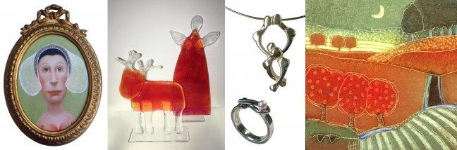 Kunst & Cadeau expositie bij de Hollandsche Maagd